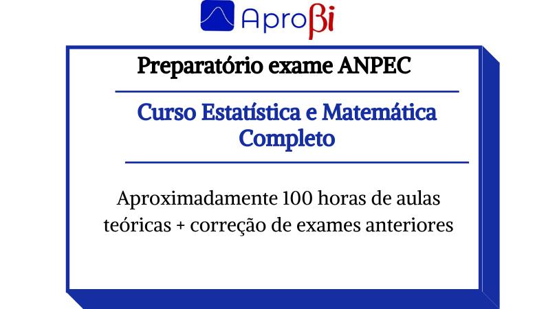 Curso de Estatística e Matemática